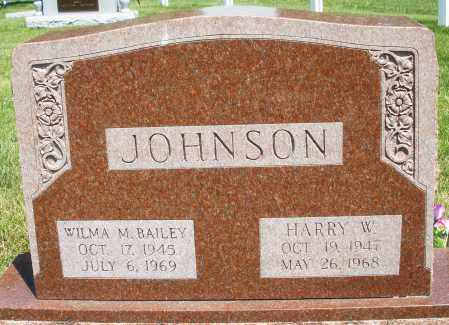 JOHNSON, WILMA M. - Montgomery County, Ohio | WILMA M. JOHNSON - Ohio Gravestone Photos