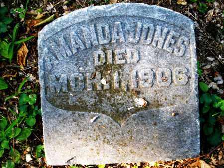 JONES, AMANDA - Montgomery County, Ohio | AMANDA JONES - Ohio Gravestone Photos