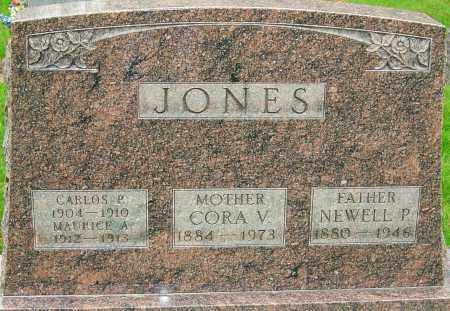 JONES, NEWELL P - Montgomery County, Ohio | NEWELL P JONES - Ohio Gravestone Photos