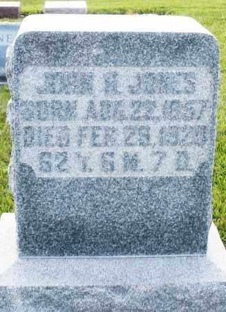 JONES, JOHN - Montgomery County, Ohio | JOHN JONES - Ohio Gravestone Photos