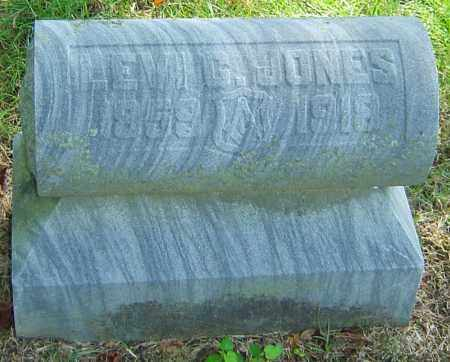 JONES, LEVI G - Montgomery County, Ohio   LEVI G JONES - Ohio Gravestone Photos