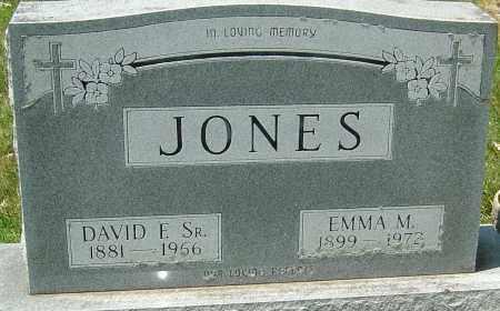 JONES SR., DAVID FRANKLIN - Montgomery County, Ohio | DAVID FRANKLIN JONES SR. - Ohio Gravestone Photos