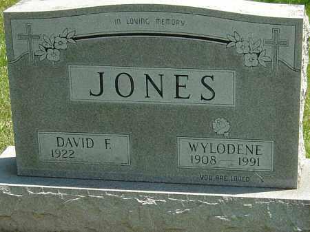 JONES, WYLODENE - Montgomery County, Ohio | WYLODENE JONES - Ohio Gravestone Photos