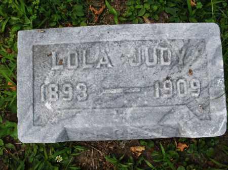 JUDY, LOLA - Montgomery County, Ohio   LOLA JUDY - Ohio Gravestone Photos