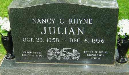 JULIAN, NANCY C - Montgomery County, Ohio   NANCY C JULIAN - Ohio Gravestone Photos