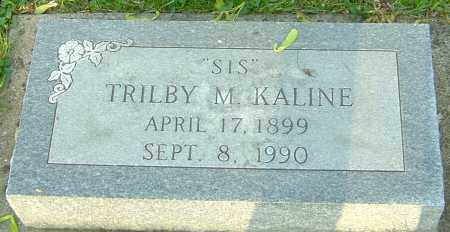 KALINE, TRILBY - Montgomery County, Ohio | TRILBY KALINE - Ohio Gravestone Photos