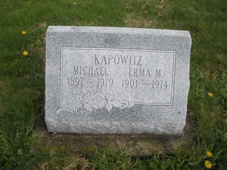 KAPOWITZ, MICHAEL - Montgomery County, Ohio | MICHAEL KAPOWITZ - Ohio Gravestone Photos