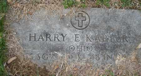 KARPUR, HARRY E. - Montgomery County, Ohio | HARRY E. KARPUR - Ohio Gravestone Photos