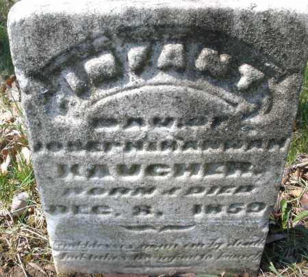 KAUCHER, INFANT - Montgomery County, Ohio | INFANT KAUCHER - Ohio Gravestone Photos