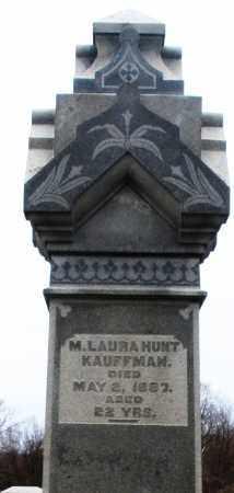 KAUFFMAN, M. LAURA - Montgomery County, Ohio | M. LAURA KAUFFMAN - Ohio Gravestone Photos