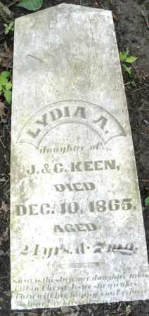 KEEN, LYDIA A. - Montgomery County, Ohio | LYDIA A. KEEN - Ohio Gravestone Photos