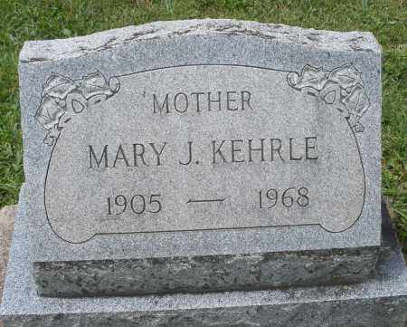 KEHRLE, MARY J. - Montgomery County, Ohio | MARY J. KEHRLE - Ohio Gravestone Photos