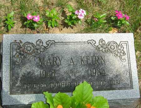 KEIRN, MARY A - Montgomery County, Ohio | MARY A KEIRN - Ohio Gravestone Photos