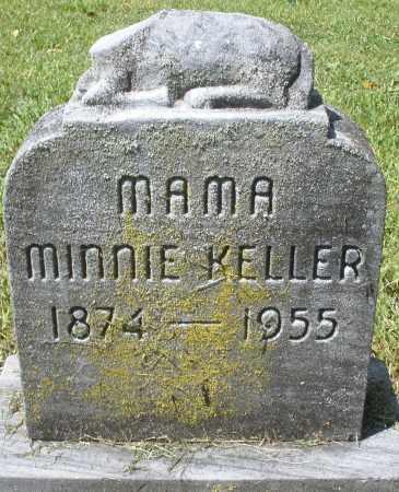 KELLER, MINNIE - Montgomery County, Ohio | MINNIE KELLER - Ohio Gravestone Photos