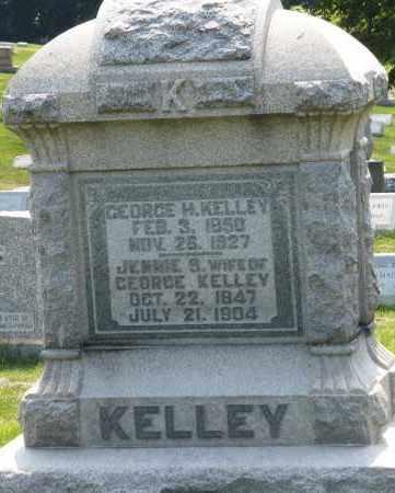 KELLEY, JENNIE B. - Montgomery County, Ohio | JENNIE B. KELLEY - Ohio Gravestone Photos