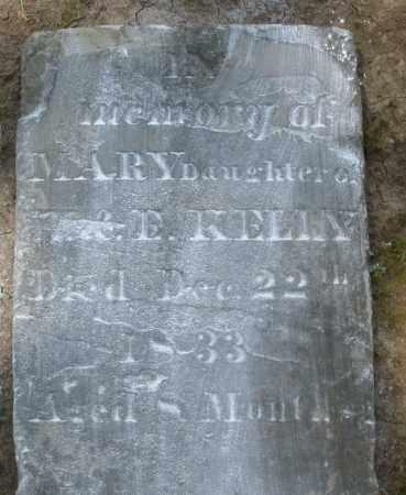 KELLY, MARY - Montgomery County, Ohio | MARY KELLY - Ohio Gravestone Photos