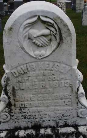 KELSEY, DAVID - Montgomery County, Ohio | DAVID KELSEY - Ohio Gravestone Photos
