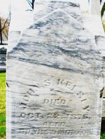 KELSEY, JOHN S. - Montgomery County, Ohio   JOHN S. KELSEY - Ohio Gravestone Photos