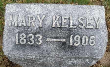 KELSEY, MARY - Montgomery County, Ohio | MARY KELSEY - Ohio Gravestone Photos
