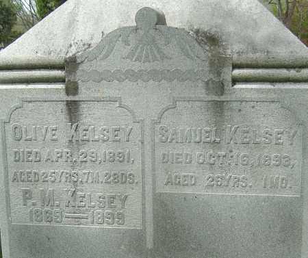 KELSEY, MARY OLIVE - Montgomery County, Ohio | MARY OLIVE KELSEY - Ohio Gravestone Photos