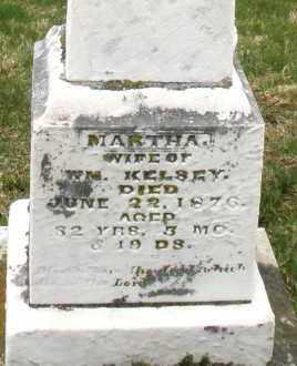 KELSEY, MARTHA - Montgomery County, Ohio | MARTHA KELSEY - Ohio Gravestone Photos