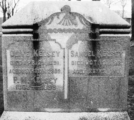 KELSEY, P. M. - Montgomery County, Ohio   P. M. KELSEY - Ohio Gravestone Photos