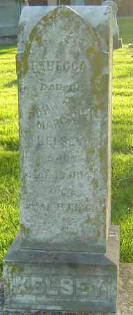 KELSEY, REBECCA - Montgomery County, Ohio   REBECCA KELSEY - Ohio Gravestone Photos