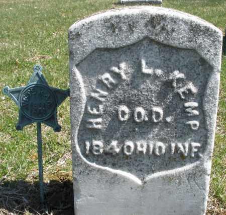 KEMP, HENRY L. - Montgomery County, Ohio   HENRY L. KEMP - Ohio Gravestone Photos