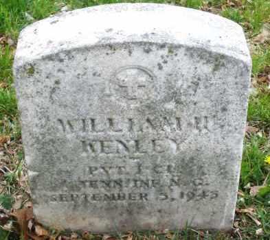 KENLEY, WILLIAM H. - Montgomery County, Ohio   WILLIAM H. KENLEY - Ohio Gravestone Photos
