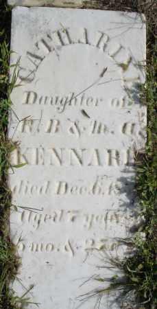 KENNARD, CATHARINE - Montgomery County, Ohio | CATHARINE KENNARD - Ohio Gravestone Photos