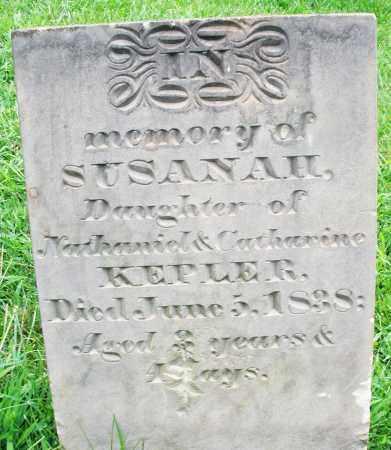 KEPLER, SUSANAH - Montgomery County, Ohio   SUSANAH KEPLER - Ohio Gravestone Photos