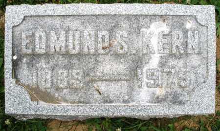 KERN, EDMUND S. - Montgomery County, Ohio | EDMUND S. KERN - Ohio Gravestone Photos