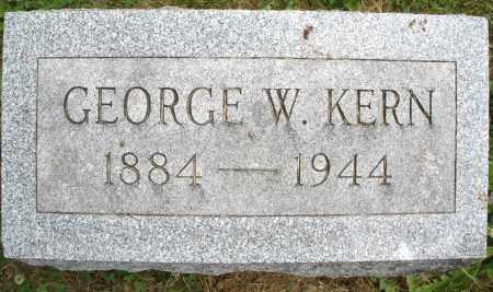 KERN, GEORGE W. - Montgomery County, Ohio | GEORGE W. KERN - Ohio Gravestone Photos
