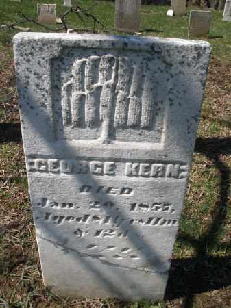 KERN, GEORGE - Montgomery County, Ohio   GEORGE KERN - Ohio Gravestone Photos
