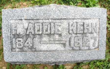 KERN, H. ADDIE - Montgomery County, Ohio   H. ADDIE KERN - Ohio Gravestone Photos