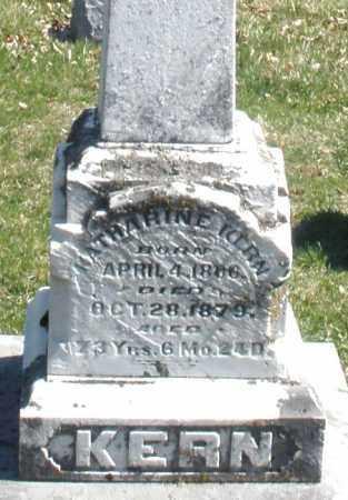 KERN, KATHARINE - Montgomery County, Ohio   KATHARINE KERN - Ohio Gravestone Photos