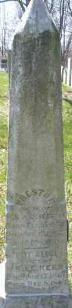 KERN, PRESTON - Montgomery County, Ohio | PRESTON KERN - Ohio Gravestone Photos