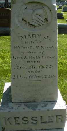 KESSLER, MARY J. - Montgomery County, Ohio | MARY J. KESSLER - Ohio Gravestone Photos