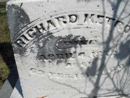 KETROW, RICHARD - Montgomery County, Ohio | RICHARD KETROW - Ohio Gravestone Photos
