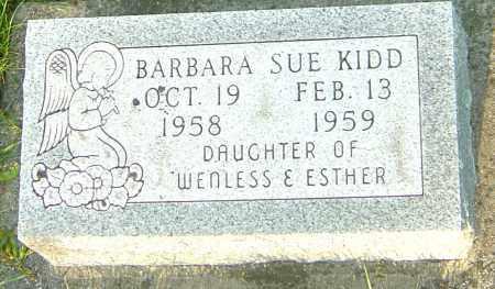 KIDD, BARBARA SUE - Montgomery County, Ohio | BARBARA SUE KIDD - Ohio Gravestone Photos
