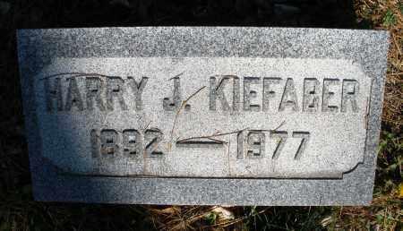 KIEFABER, HARRY J. - Montgomery County, Ohio | HARRY J. KIEFABER - Ohio Gravestone Photos