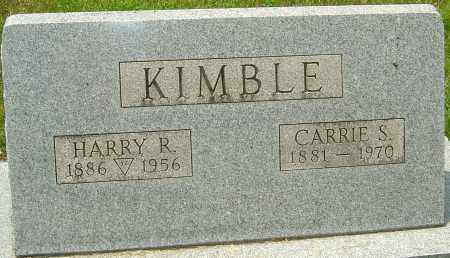 KIMBLE, HENRY RIDDLE - Montgomery County, Ohio | HENRY RIDDLE KIMBLE - Ohio Gravestone Photos