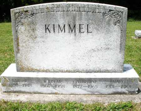 KIMMEL, MARY - Montgomery County, Ohio | MARY KIMMEL - Ohio Gravestone Photos