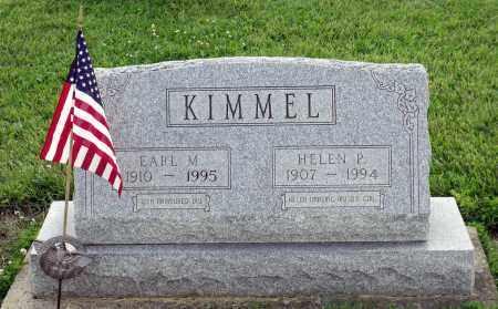 KIMMEL, EARL M. - Montgomery County, Ohio   EARL M. KIMMEL - Ohio Gravestone Photos
