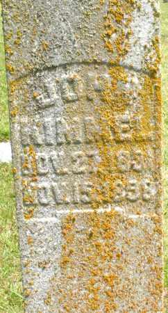 KIMMEL, JOHN - Montgomery County, Ohio   JOHN KIMMEL - Ohio Gravestone Photos