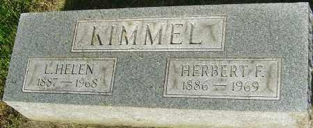 KIMMEL, HERBERT F - Montgomery County, Ohio | HERBERT F KIMMEL - Ohio Gravestone Photos