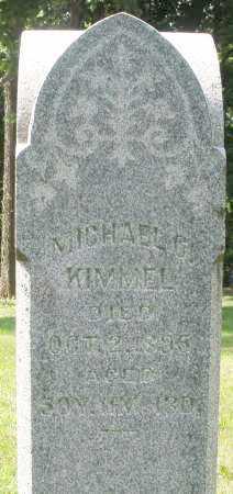 KIMMEL, MICHAEL - Montgomery County, Ohio   MICHAEL KIMMEL - Ohio Gravestone Photos