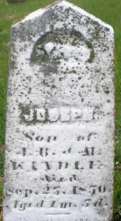 KINDLE, JOSEPH - Montgomery County, Ohio | JOSEPH KINDLE - Ohio Gravestone Photos