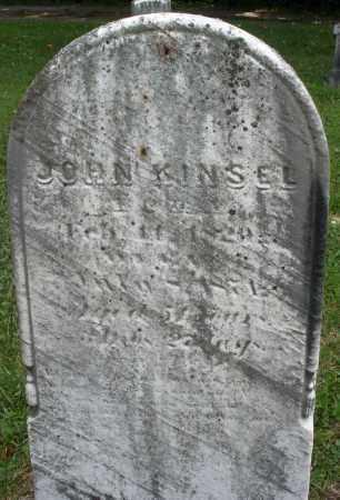 KINSEL, JOHN - Montgomery County, Ohio | JOHN KINSEL - Ohio Gravestone Photos
