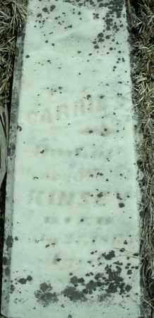 KINSEY, CARRIE - Montgomery County, Ohio   CARRIE KINSEY - Ohio Gravestone Photos